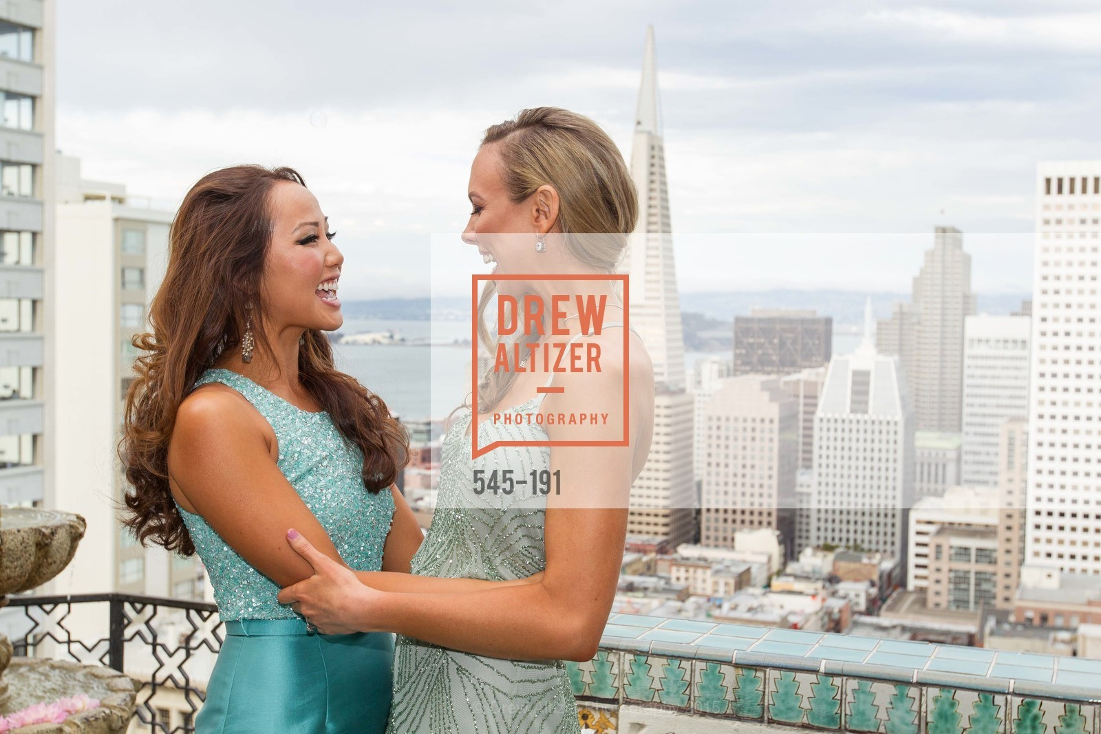 Emily Leung, Michelle Bertino, Spinsters of San Francisco Annual Ball 2015, Penthouse at the Fairmont San Francisco (950 Mason Street). 950 Mason Street, June 28th, 2015