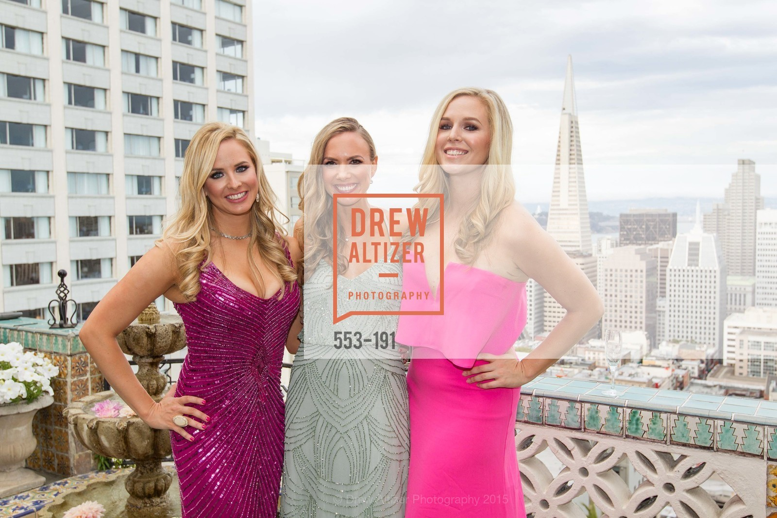 Elizabeth Sgarrella, Michelle Bertino, Cambria Steel, Spinsters of San Francisco Annual Ball 2015, Penthouse at the Fairmont San Francisco (950 Mason Street). 950 Mason Street, June 28th, 2015,Drew Altizer, Drew Altizer Photography, full-service agency, private events, San Francisco photographer, photographer california