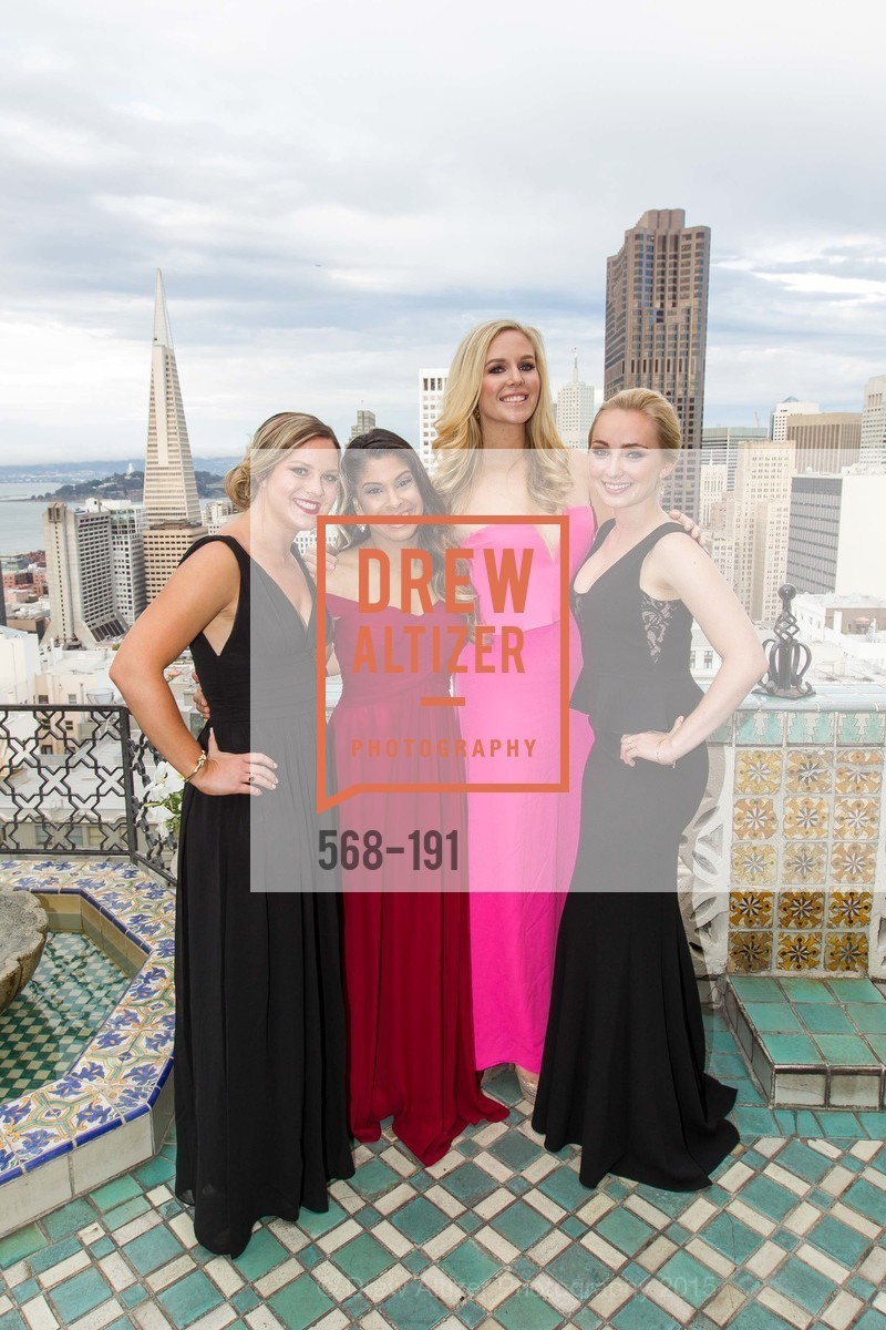Dana Nicholson, Kavita Karode, Cambria Steel, Morgan Barnes, Spinsters of San Francisco Annual Ball 2015, Penthouse at the Fairmont San Francisco (950 Mason Street). 950 Mason Street, June 28th, 2015,Drew Altizer, Drew Altizer Photography, full-service agency, private events, San Francisco photographer, photographer california
