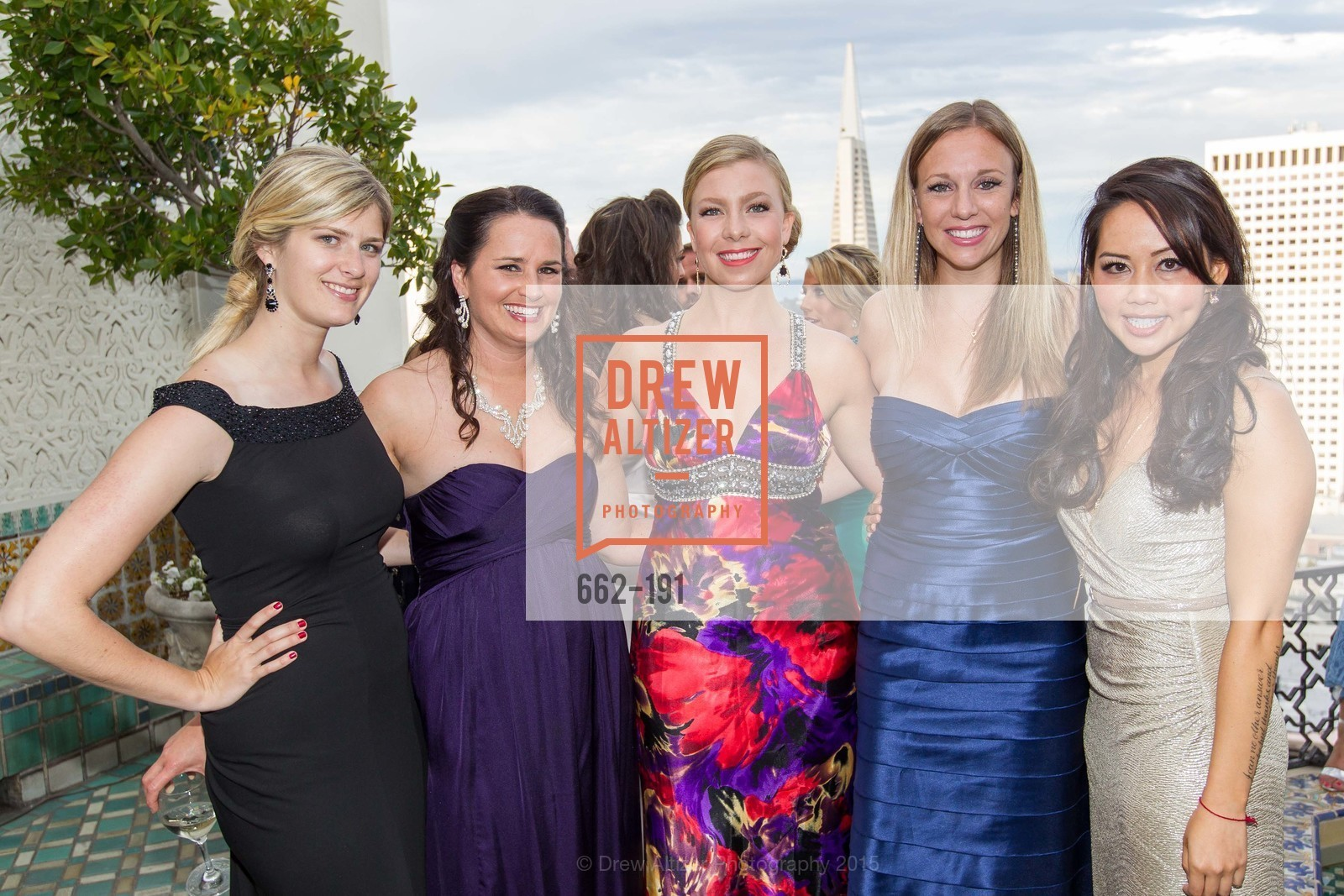 Kendall Jones, Kristen Leep, Rachel Hendricks, Kimberly Harden, Jessica Leung, Spinsters of San Francisco Annual Ball 2015, Penthouse at the Fairmont San Francisco (950 Mason Street). 950 Mason Street, June 28th, 2015,Drew Altizer, Drew Altizer Photography, full-service agency, private events, San Francisco photographer, photographer california