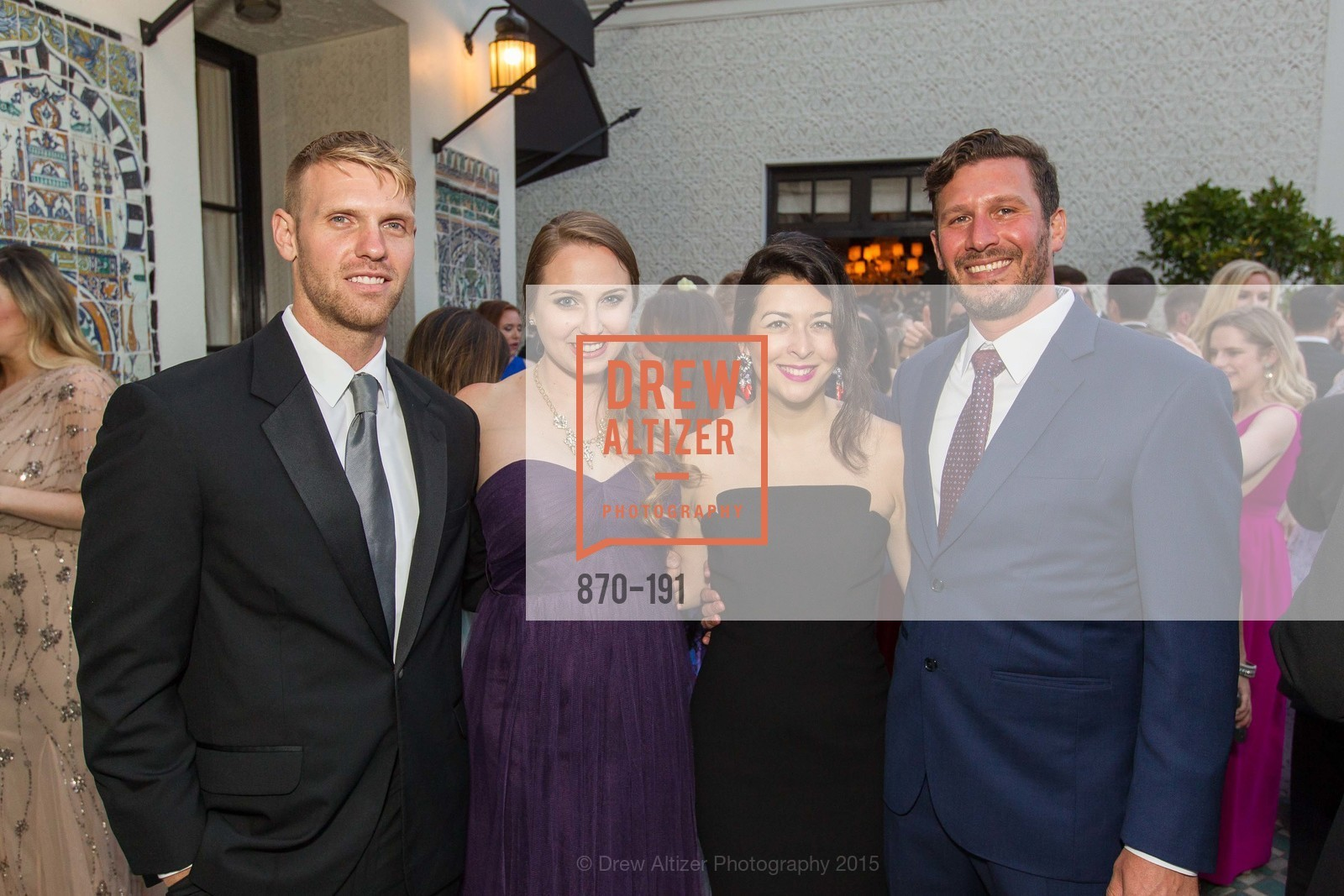 Nick Andrus, Victoria Whitehill, Sahar Waziri, Chris Cornell, Spinsters of San Francisco Annual Ball 2015, Penthouse at the Fairmont San Francisco (950 Mason Street). 950 Mason Street, June 28th, 2015,Drew Altizer, Drew Altizer Photography, full-service agency, private events, San Francisco photographer, photographer california
