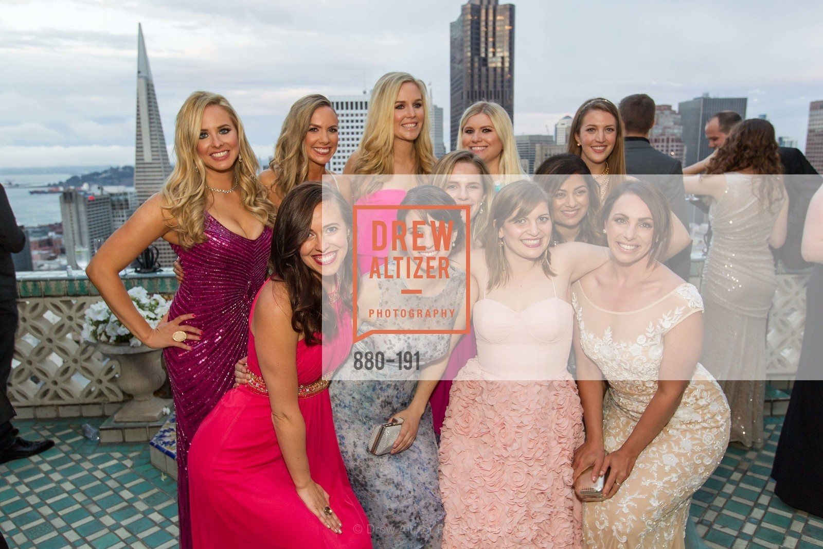 Elizabeth Sgarrella, Michelle Bertino, Bailey Douglass, Cambria Steel, Summer McCormick, Jonna Constantine, Priya Saiprasad, Julia Allyn, Genevieve Haight, Spinsters of San Francisco Annual Ball 2015, Penthouse at the Fairmont San Francisco (950 Mason Street). 950 Mason Street, June 28th, 2015,Drew Altizer, Drew Altizer Photography, full-service agency, private events, San Francisco photographer, photographer california
