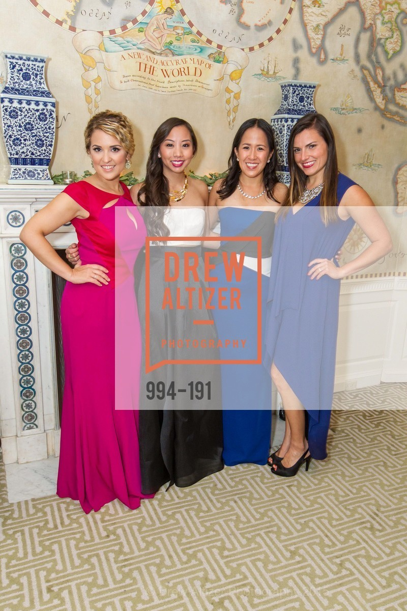 Christina Cardosa, Eileen Chou, MaiLing Lai, Laura Masing, Spinsters of San Francisco Annual Ball 2015, Penthouse at the Fairmont San Francisco (950 Mason Street). 950 Mason Street, June 28th, 2015,Drew Altizer, Drew Altizer Photography, full-service agency, private events, San Francisco photographer, photographer california