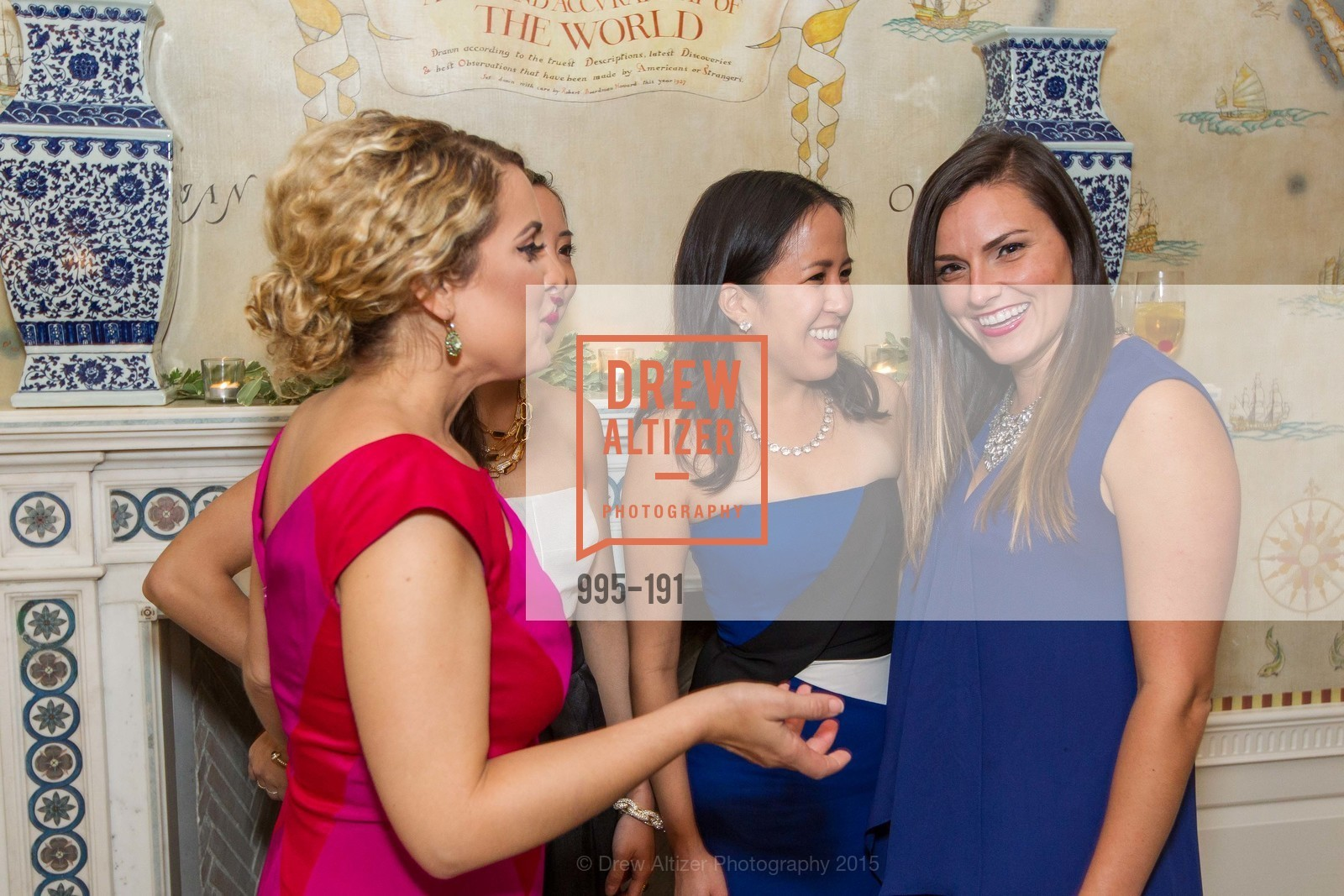 Christina Cardosa, Eileen Chou, MaiLing Lai, Laura Masing, Spinsters of San Francisco Annual Ball 2015, Penthouse at the Fairmont San Francisco (950 Mason Street). 950 Mason Street, June 28th, 2015,Drew Altizer, Drew Altizer Photography, full-service event agency, private events, San Francisco photographer, photographer California