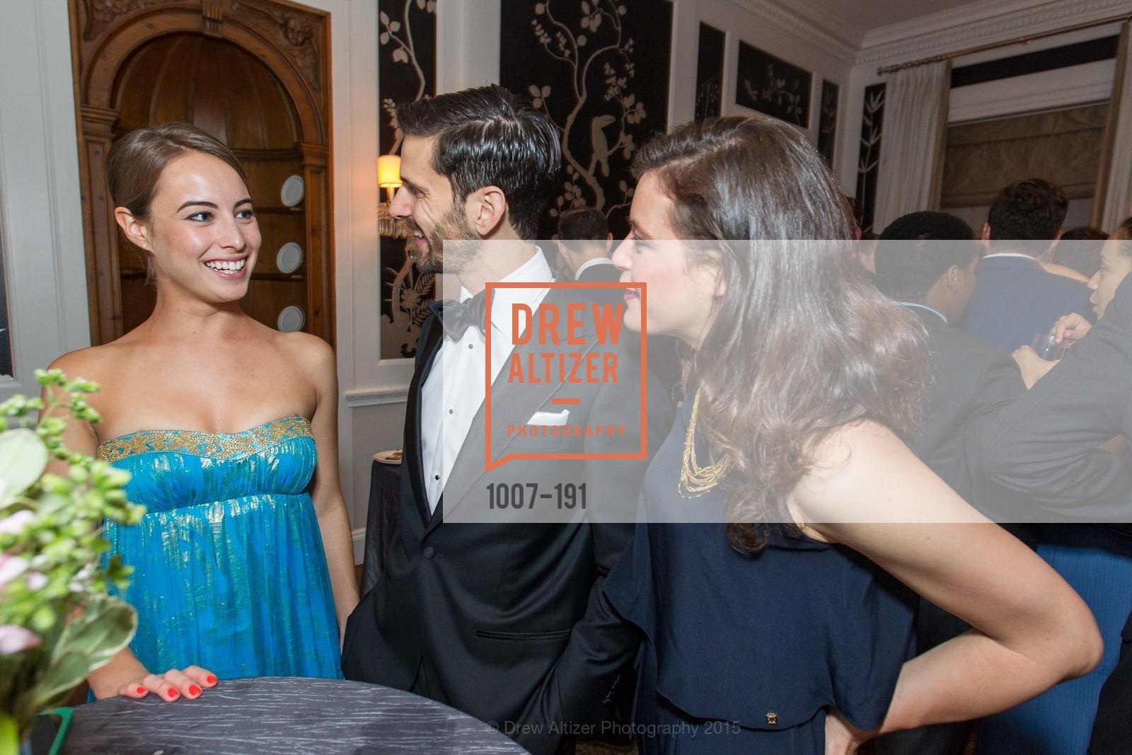 Juliette Carnoy, Brennan Angel, Celine Buell, Spinsters of San Francisco Annual Ball 2015, Penthouse at the Fairmont San Francisco (950 Mason Street). 950 Mason Street, June 28th, 2015,Drew Altizer, Drew Altizer Photography, full-service agency, private events, San Francisco photographer, photographer california
