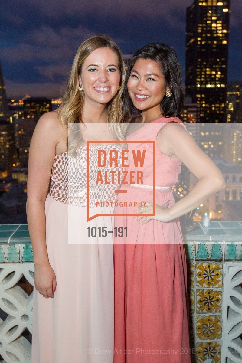 Alexia Case, Aileen Shon, Spinsters of San Francisco Annual Ball 2015, Penthouse at the Fairmont San Francisco (950 Mason Street). 950 Mason Street, June 28th, 2015
