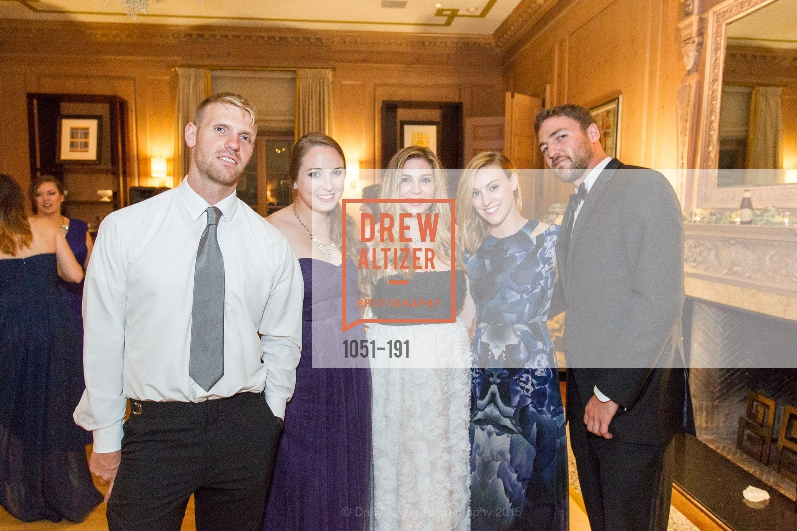 Nick Andrus, Kathleen Roberts, Alyssa Nordstrom, Christine Robataille, Will Robertson, Spinsters of San Francisco Annual Ball 2015, Penthouse at the Fairmont San Francisco (950 Mason Street). 950 Mason Street, June 28th, 2015,Drew Altizer, Drew Altizer Photography, full-service agency, private events, San Francisco photographer, photographer california