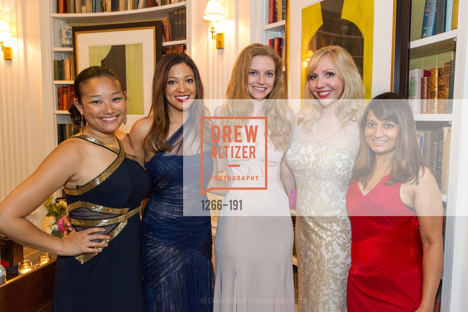Kelly Leung, Mia Lee, Kate Jordan, Mary Devon Ditzen, Fatima Kahn, Spinsters of San Francisco Annual Ball 2015, Penthouse at the Fairmont San Francisco (950 Mason Street). 950 Mason Street, June 28th, 2015,Drew Altizer, Drew Altizer Photography, full-service agency, private events, San Francisco photographer, photographer california