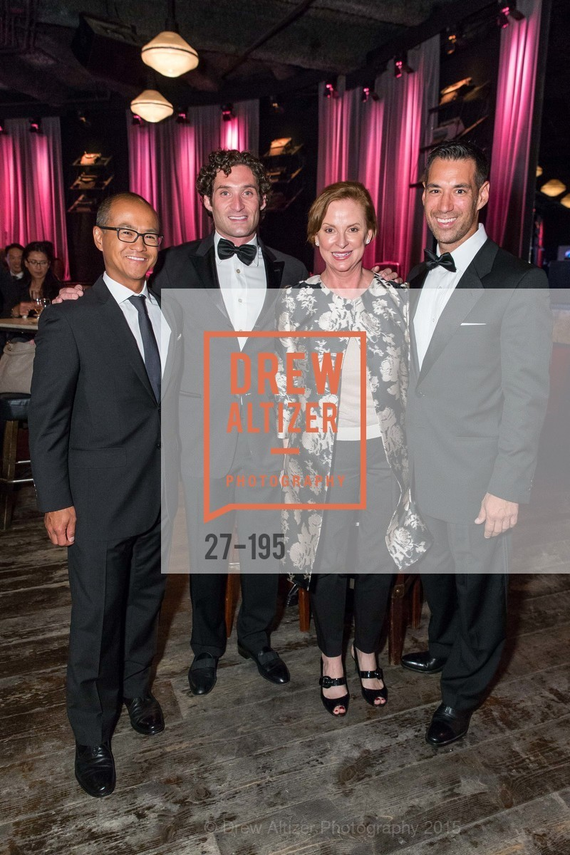 Mark Choey, Justin Fichelson, Lynn Bell, Chris Lim, Climb Real Estate and Sindeo Celebrate the Launch of Million Dollar Listing San Francisco, Local Edition San Francisco. 691 Market St, July 8th, 2015