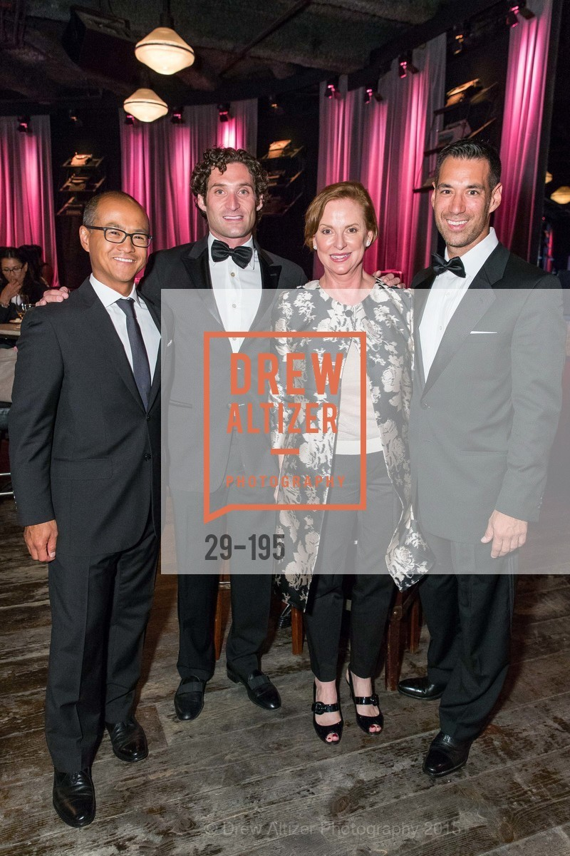 Mark Choey, Justin Fichelson, Lynn Bell, Chris Lim, Climb Real Estate and Sindeo Celebrate the Launch of Million Dollar Listing San Francisco, Local Edition San Francisco. 691 Market St, July 8th, 2015,Drew Altizer, Drew Altizer Photography, full-service agency, private events, San Francisco photographer, photographer california