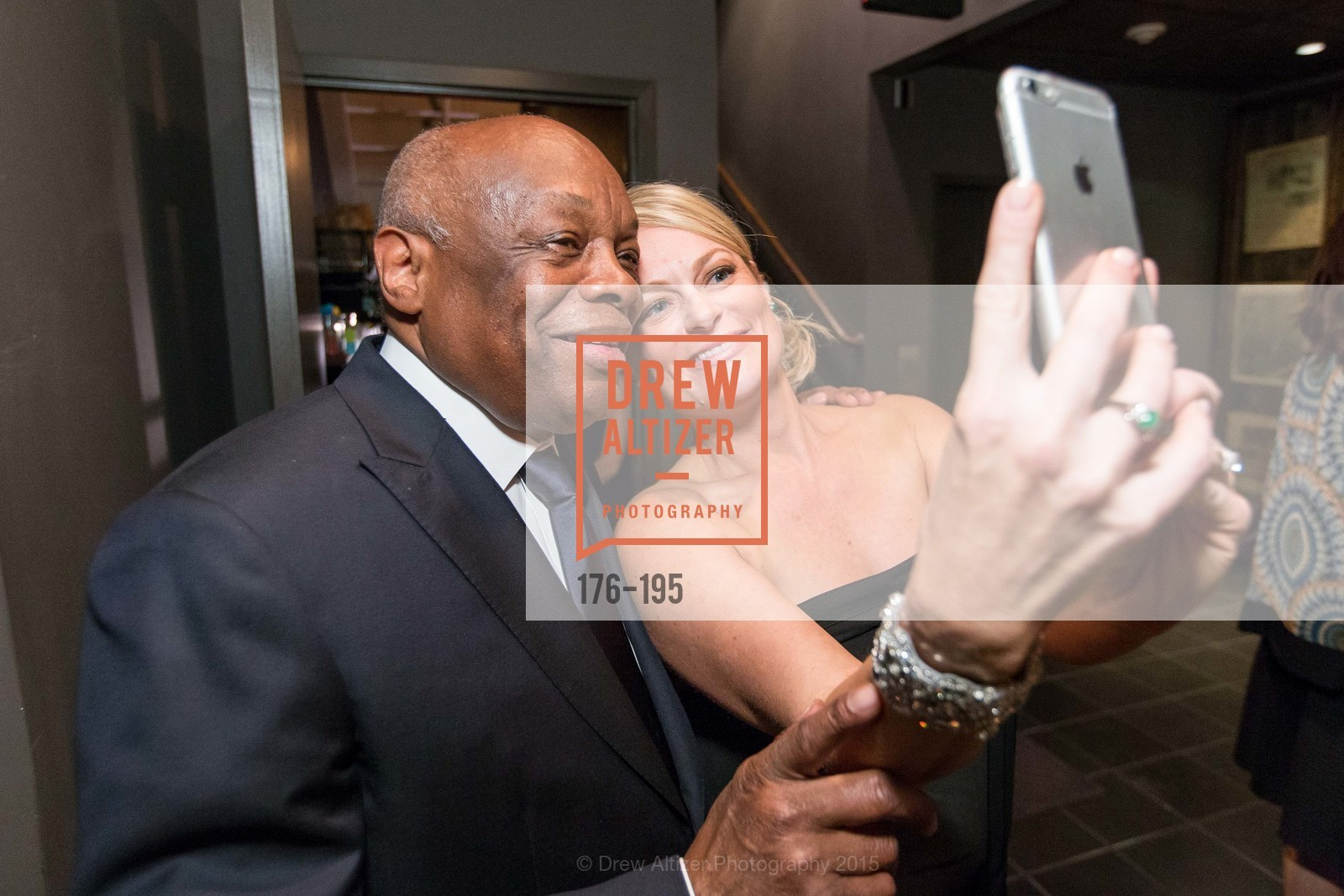 Willie Brown, Melody Hultgren, Climb Real Estate and Sindeo Celebrate the Launch of Million Dollar Listing San Francisco, Local Edition San Francisco. 691 Market St, July 8th, 2015,Drew Altizer, Drew Altizer Photography, full-service agency, private events, San Francisco photographer, photographer california