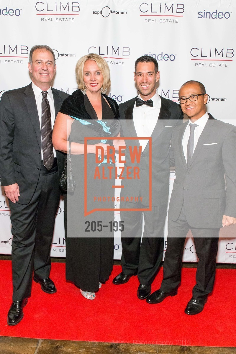 Nick Stamos, Ginger Wilcox, Chris Lim, Mark Choey, Climb Real Estate and Sindeo Celebrate the Launch of Million Dollar Listing San Francisco, Local Edition San Francisco. 691 Market St, July 8th, 2015,Drew Altizer, Drew Altizer Photography, full-service agency, private events, San Francisco photographer, photographer california