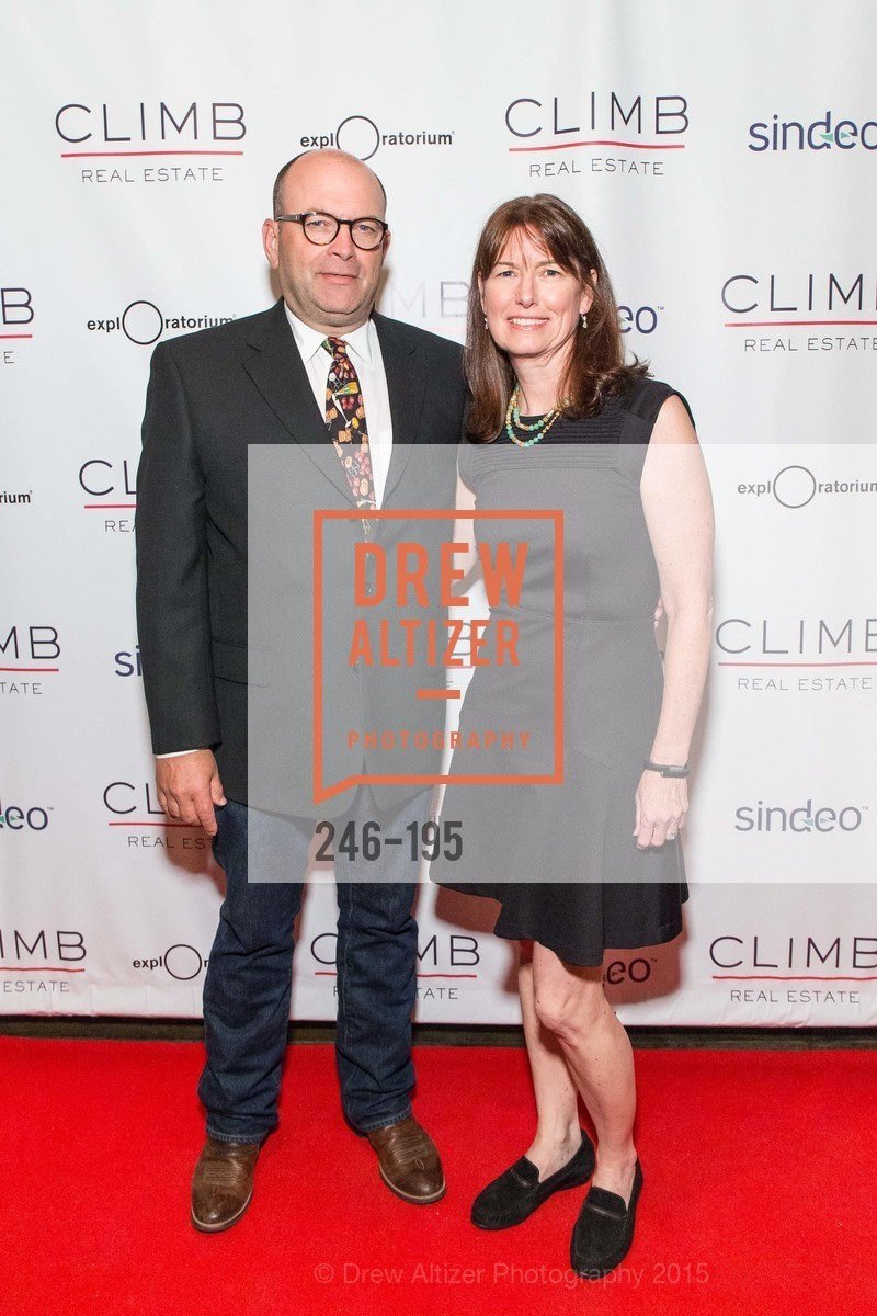 Larry Warner, Theresa Larson, Climb Real Estate and Sindeo Celebrate the Launch of Million Dollar Listing San Francisco, Local Edition San Francisco. 691 Market St, July 8th, 2015