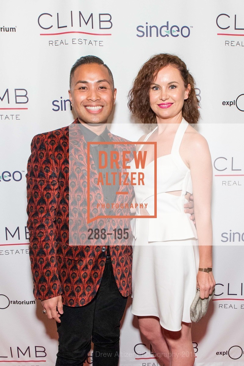 Rommel Yema, Renata Seirodova, Climb Real Estate and Sindeo Celebrate the Launch of Million Dollar Listing San Francisco, Local Edition San Francisco. 691 Market St, July 8th, 2015,Drew Altizer, Drew Altizer Photography, full-service agency, private events, San Francisco photographer, photographer california
