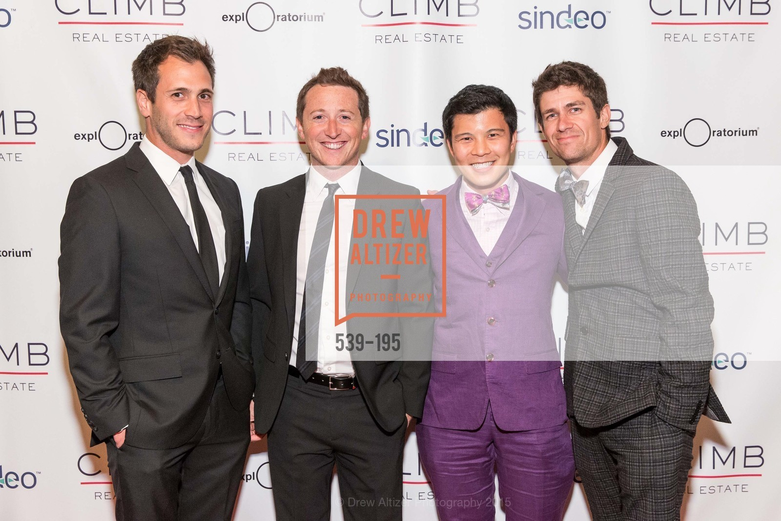 David Stark, Stephen Haskell, Tony Pham, Brian Shaier, Climb Real Estate and Sindeo Celebrate the Launch of Million Dollar Listing San Francisco, Local Edition San Francisco. 691 Market St, July 8th, 2015,Drew Altizer, Drew Altizer Photography, full-service agency, private events, San Francisco photographer, photographer california