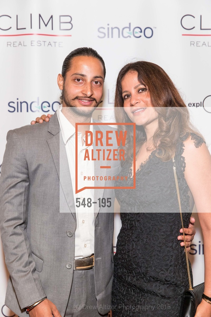 Aval Juneja, Sherry Juneja, Climb Real Estate and Sindeo Celebrate the Launch of Million Dollar Listing San Francisco, Local Edition San Francisco. 691 Market St, July 8th, 2015,Drew Altizer, Drew Altizer Photography, full-service agency, private events, San Francisco photographer, photographer california