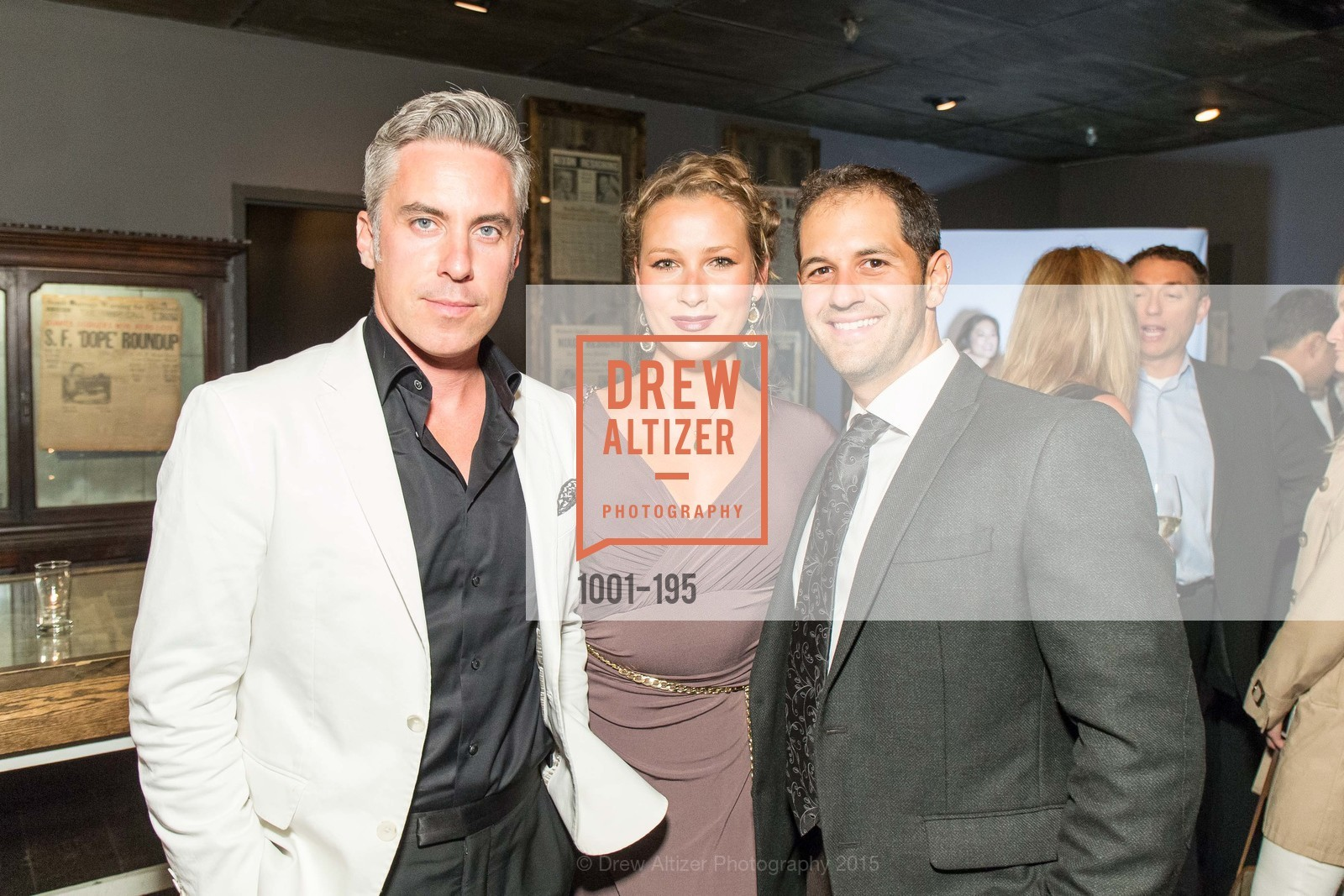 Eoin Harrington, Svetlana Kolesnikova, Jaron Eliopoulos, Climb Real Estate and Sindeo Celebrate the Launch of Million Dollar Listing San Francisco, Local Edition San Francisco. 691 Market St, July 8th, 2015,Drew Altizer, Drew Altizer Photography, full-service agency, private events, San Francisco photographer, photographer california