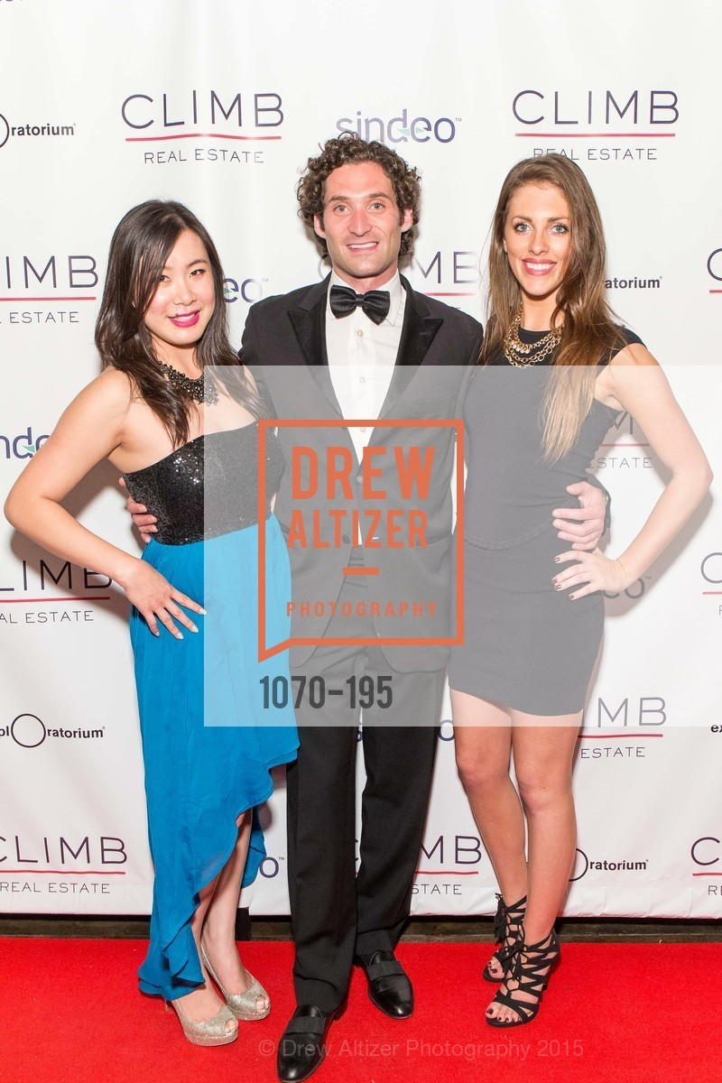 Alice Pak, Justin Fichelson, Katie Secrest, Climb Real Estate and Sindeo Celebrate the Launch of Million Dollar Listing San Francisco, Local Edition San Francisco. 691 Market St, July 8th, 2015,Drew Altizer, Drew Altizer Photography, full-service agency, private events, San Francisco photographer, photographer california