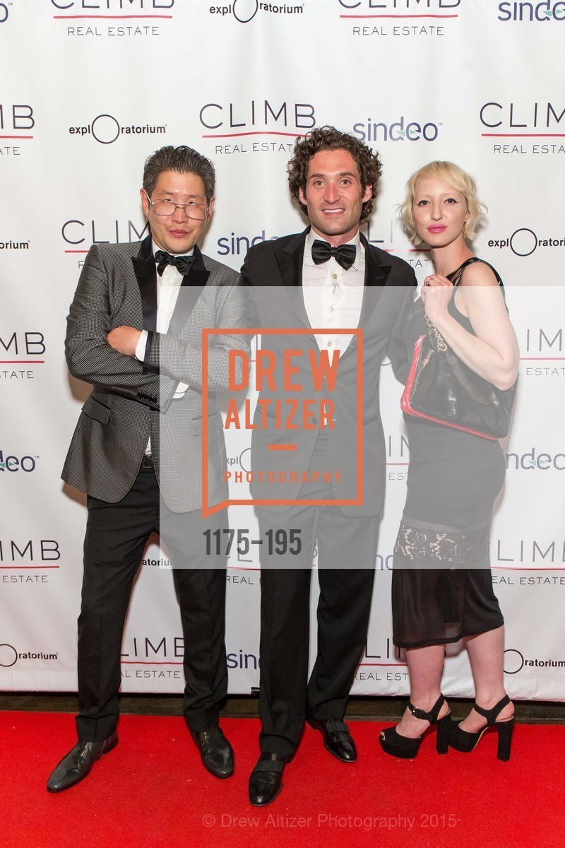 Michael Wong, Justin Fichelson, Zoe Wong, Climb Real Estate and Sindeo Celebrate the Launch of Million Dollar Listing San Francisco, Local Edition San Francisco. 691 Market St, July 8th, 2015,Drew Altizer, Drew Altizer Photography, full-service agency, private events, San Francisco photographer, photographer california