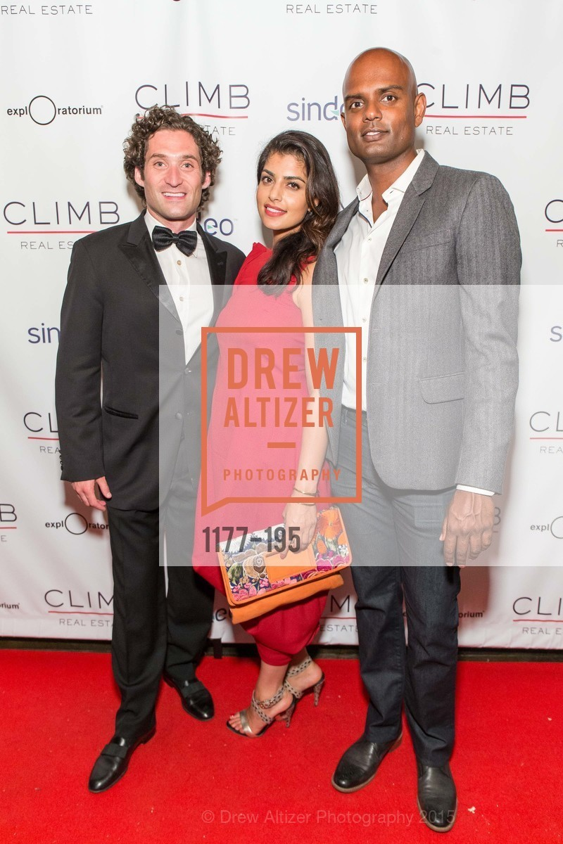 Justin Fichelson, Tanya Bhavnani, Dileepan Siva, Climb Real Estate and Sindeo Celebrate the Launch of Million Dollar Listing San Francisco, Local Edition San Francisco. 691 Market St, July 8th, 2015,Drew Altizer, Drew Altizer Photography, full-service agency, private events, San Francisco photographer, photographer california