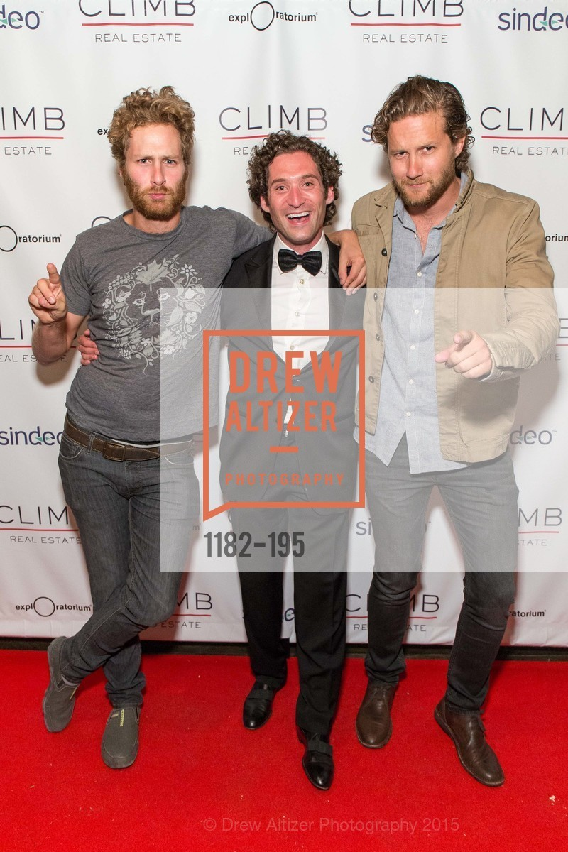 Tyler MacNiven, Justin Fichelson, Dylan MacNiven, Climb Real Estate and Sindeo Celebrate the Launch of Million Dollar Listing San Francisco, Local Edition San Francisco. 691 Market St, July 8th, 2015,Drew Altizer, Drew Altizer Photography, full-service agency, private events, San Francisco photographer, photographer california