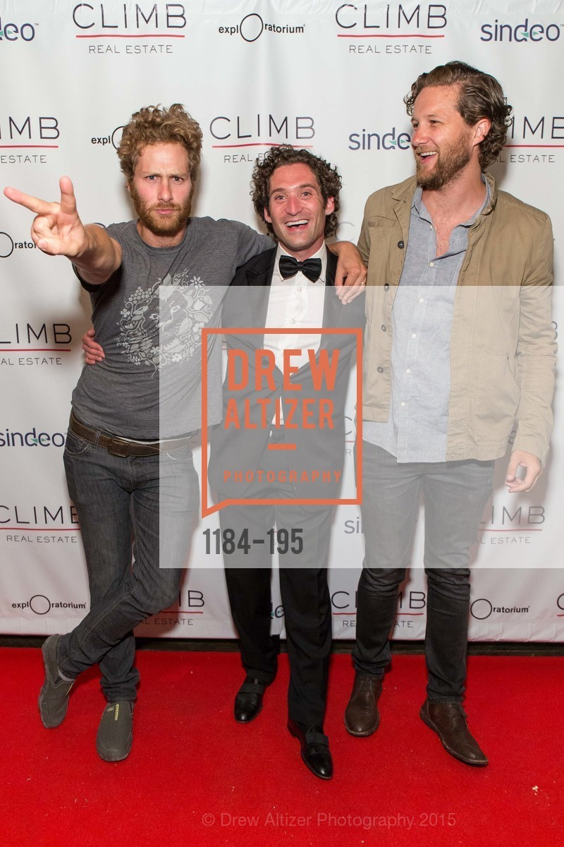 Tyler MacNiven, Justin Fichelson, Dylan MacNiven, Climb Real Estate and Sindeo Celebrate the Launch of Million Dollar Listing San Francisco, Local Edition San Francisco. 691 Market St, July 8th, 2015,Drew Altizer, Drew Altizer Photography, full-service event agency, private events, San Francisco photographer, photographer California