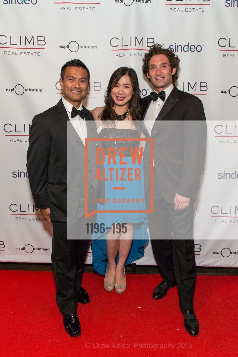 Tra Thach, Alice Pak, Justin Fichelson, Climb Real Estate and Sindeo Celebrate the Launch of Million Dollar Listing San Francisco, Local Edition San Francisco. 691 Market St, July 8th, 2015,Drew Altizer, Drew Altizer Photography, full-service agency, private events, San Francisco photographer, photographer california