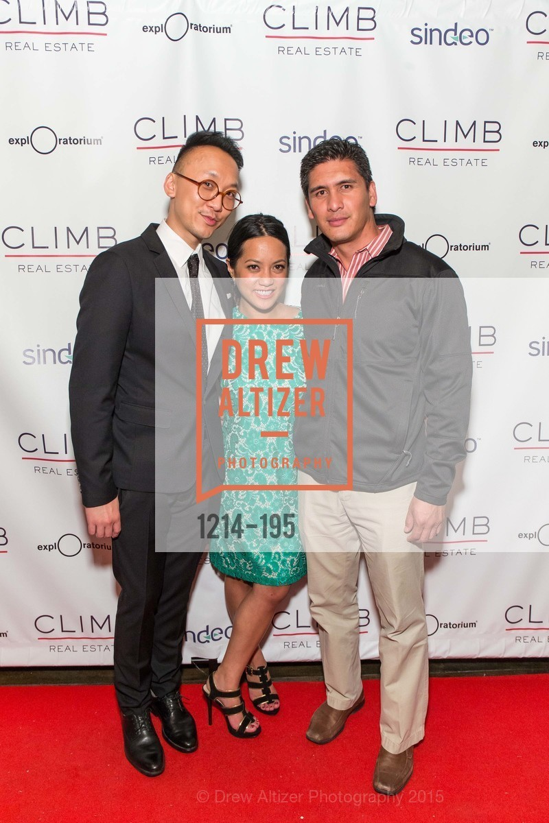 An Luc, Caroline Nonaka, Roscoe Mata, Climb Real Estate and Sindeo Celebrate the Launch of Million Dollar Listing San Francisco, Local Edition San Francisco. 691 Market St, July 8th, 2015,Drew Altizer, Drew Altizer Photography, full-service event agency, private events, San Francisco photographer, photographer California
