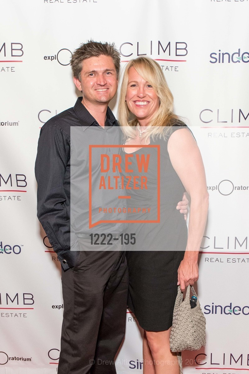 David Kelley, Rebecca Brook, Climb Real Estate and Sindeo Celebrate the Launch of Million Dollar Listing San Francisco, Local Edition San Francisco. 691 Market St, July 8th, 2015,Drew Altizer, Drew Altizer Photography, full-service agency, private events, San Francisco photographer, photographer california