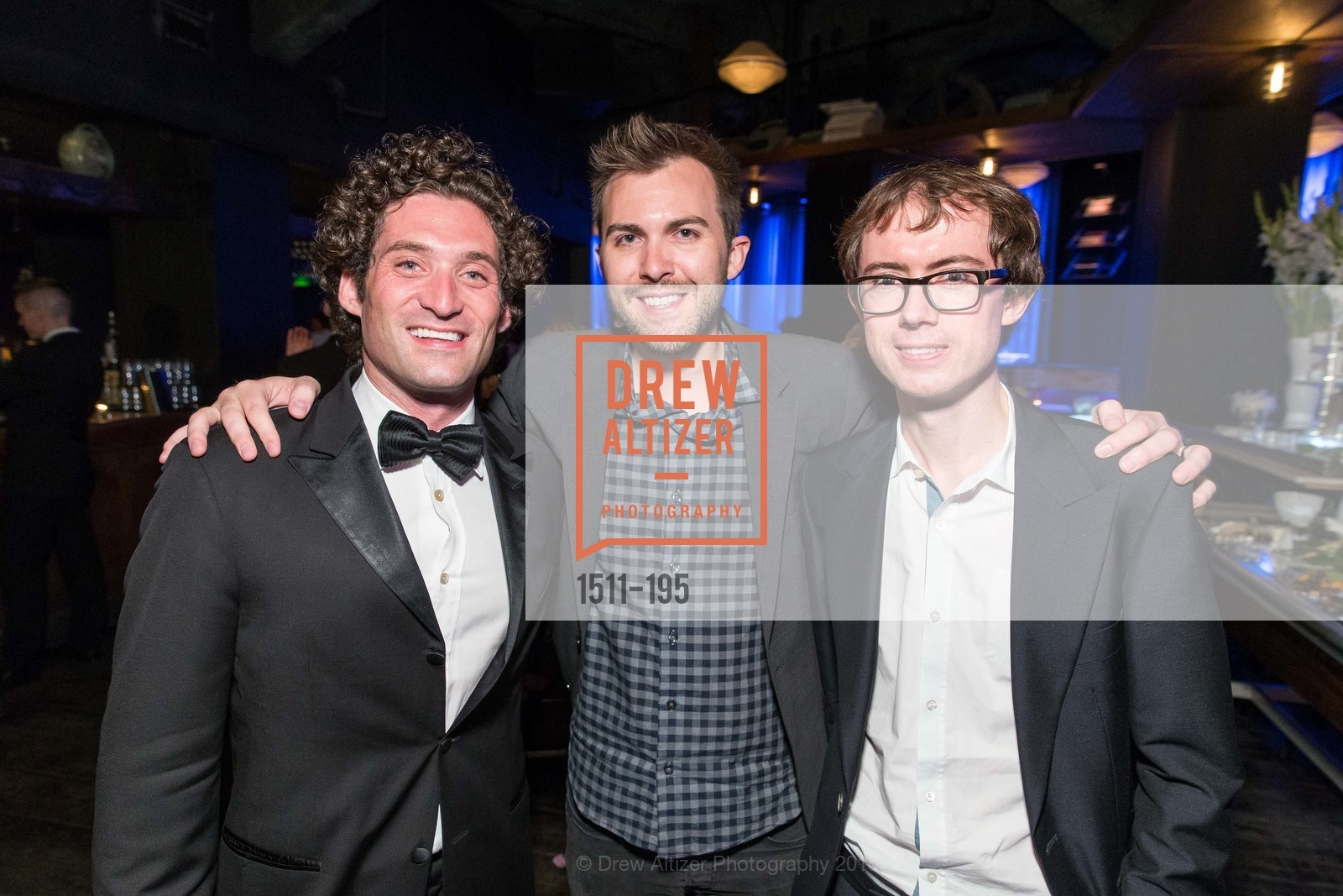 Justin Fichelson, John Uphoff, Edward King, Climb Real Estate and Sindeo Celebrate the Launch of Million Dollar Listing San Francisco, Local Edition San Francisco. 691 Market St, July 8th, 2015,Drew Altizer, Drew Altizer Photography, full-service agency, private events, San Francisco photographer, photographer california