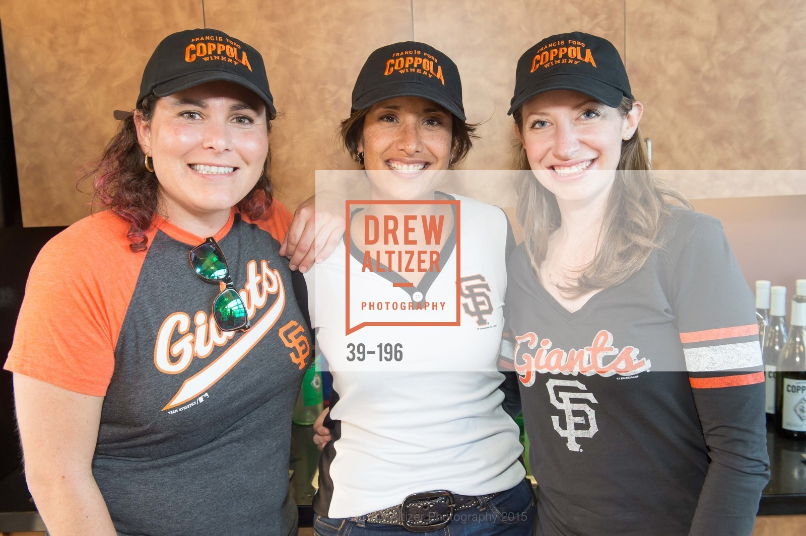 Natalie Dale, Lise Asimont, Meghan Rech, Francis Ford Coppola Winery Presents Diamond on the Diamond, San Francisco Giants AT&T Park, Virgin America Loft. 24 Willie Mays Plaza, July 10th, 2015,Drew Altizer, Drew Altizer Photography, full-service agency, private events, San Francisco photographer, photographer california