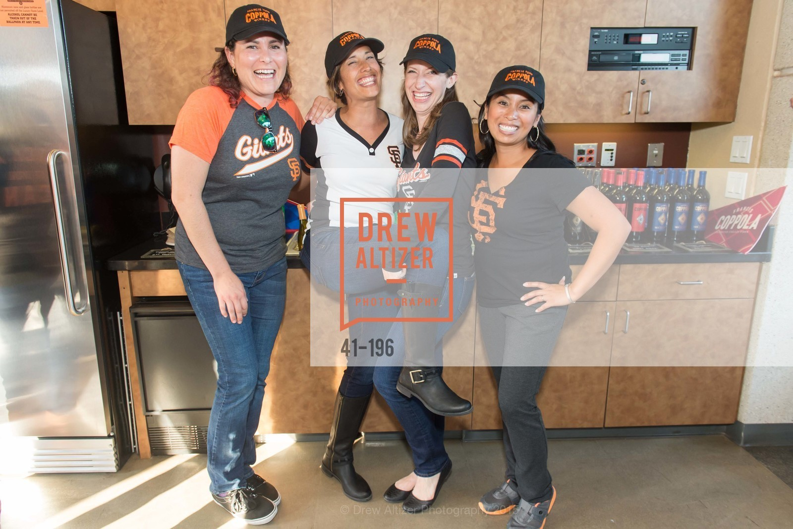 Natalie Dale, Lise Asimont, Meghan Rech, Tondi Bolten, Francis Ford Coppola Winery Presents Diamond on the Diamond, San Francisco Giants AT&T Park, Virgin America Loft. 24 Willie Mays Plaza, July 10th, 2015,Drew Altizer, Drew Altizer Photography, full-service agency, private events, San Francisco photographer, photographer california