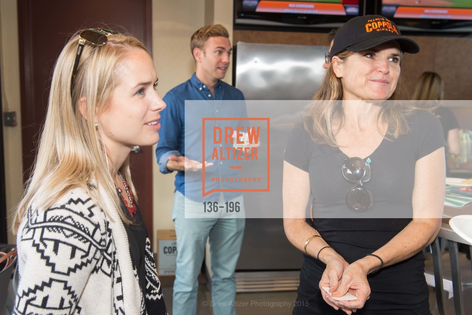 Joline King, Mimi Towle, Francis Ford Coppola Winery Presents Diamond on the Diamond, San Francisco Giants AT&T Park, Virgin America Loft. 24 Willie Mays Plaza, July 10th, 2015,Drew Altizer, Drew Altizer Photography, full-service agency, private events, San Francisco photographer, photographer california