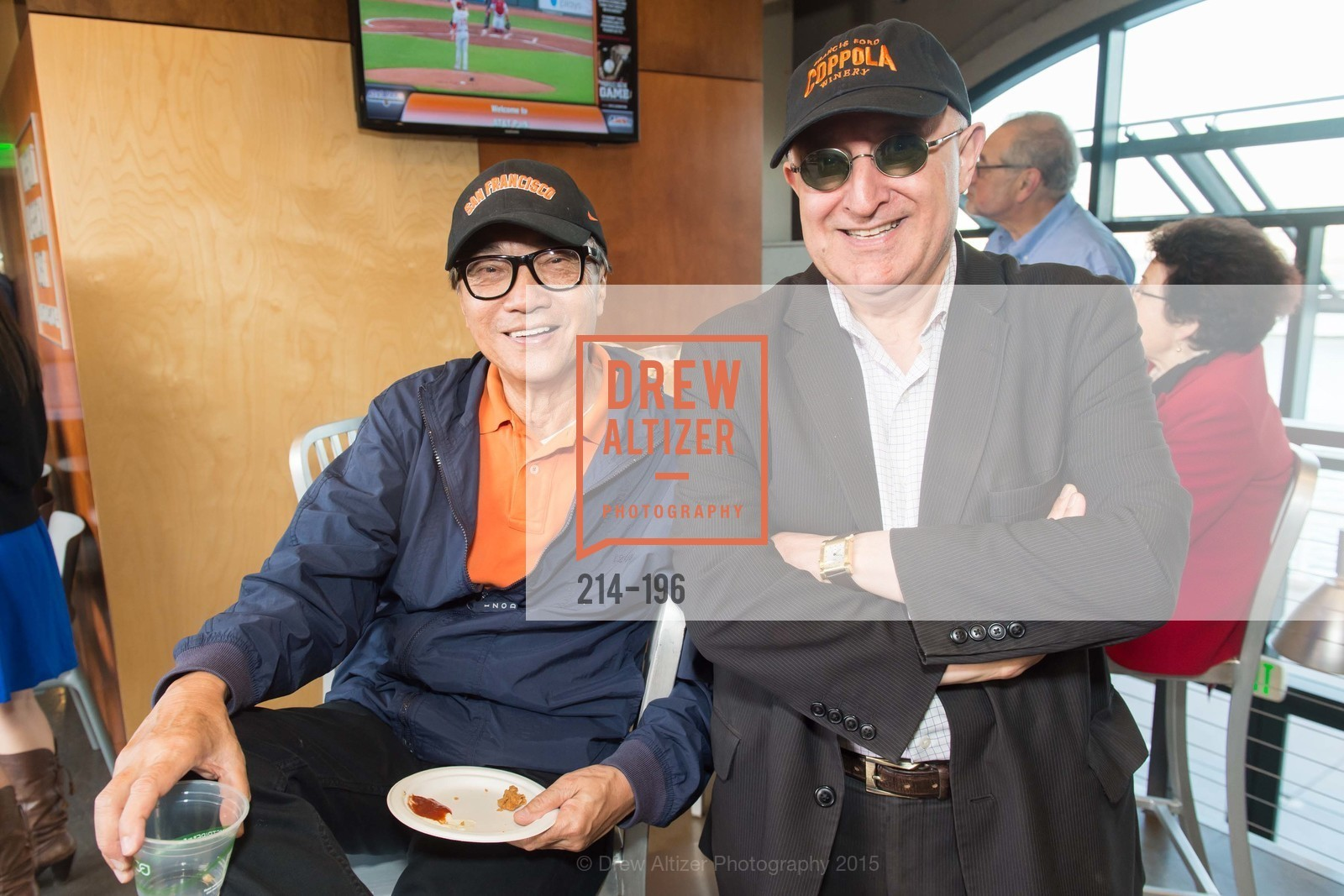 Chek Tan, Ali Ghabarian, Francis Ford Coppola Winery Presents Diamond on the Diamond, San Francisco Giants AT&T Park, Virgin America Loft. 24 Willie Mays Plaza, July 10th, 2015,Drew Altizer, Drew Altizer Photography, full-service agency, private events, San Francisco photographer, photographer california