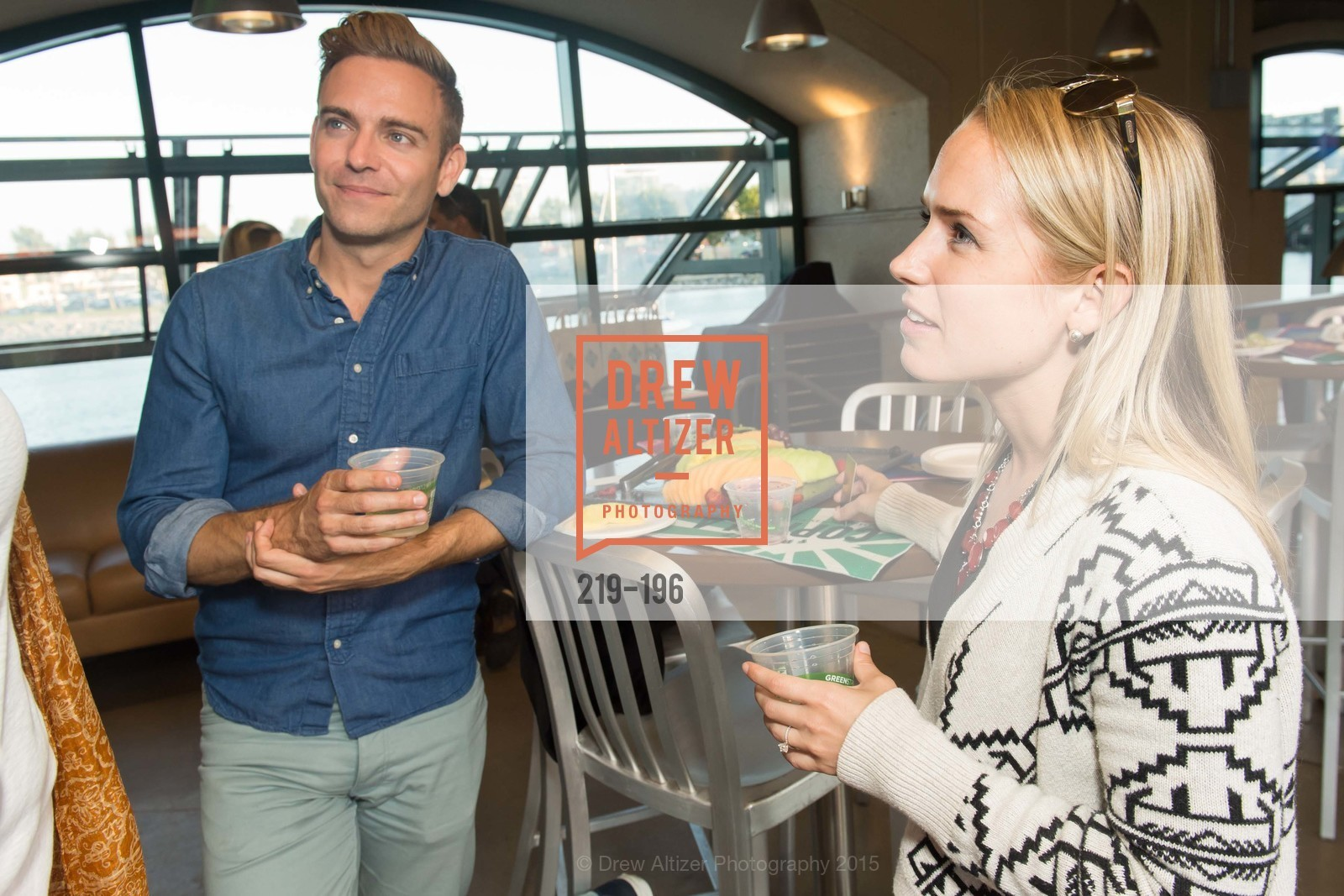 Matthew Rodriguez, Joline King, Francis Ford Coppola Winery Presents Diamond on the Diamond, San Francisco Giants AT&T Park, Virgin America Loft. 24 Willie Mays Plaza, July 10th, 2015,Drew Altizer, Drew Altizer Photography, full-service agency, private events, San Francisco photographer, photographer california