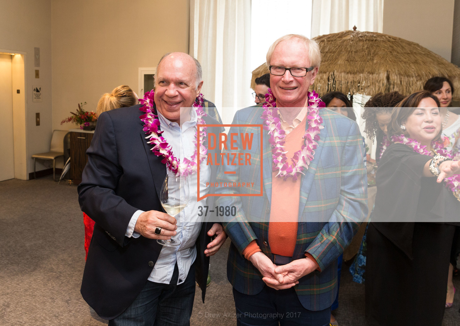 Bill Hales, Ed Winger, Aubrey Brewster's Purely Paradise Birthday Luncheon 2017, Neiman Marcus. 150 Stockton St  SF, California 94108, March 24th, 2017