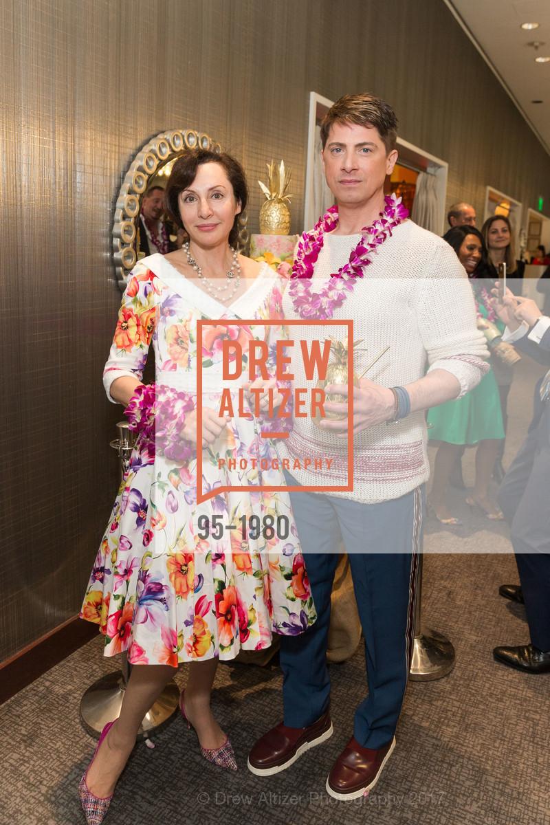 Clara Shayevich, Aubrey Brewster, Aubrey Brewster's Purely Paradise Birthday Luncheon 2017, Neiman Marcus. 150 Stockton St  SF, California 94108, March 24th, 2017