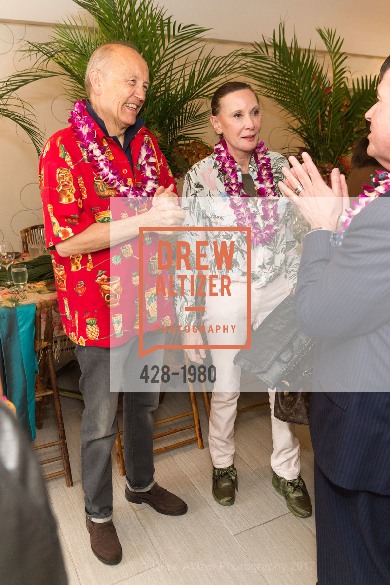 Jan Hedquist, Guilaine Hedquist, Aubrey Brewster's Purely Paradise Birthday Luncheon 2017, Neiman Marcus. 150 Stockton St  SF, California 94108, March 24th, 2017