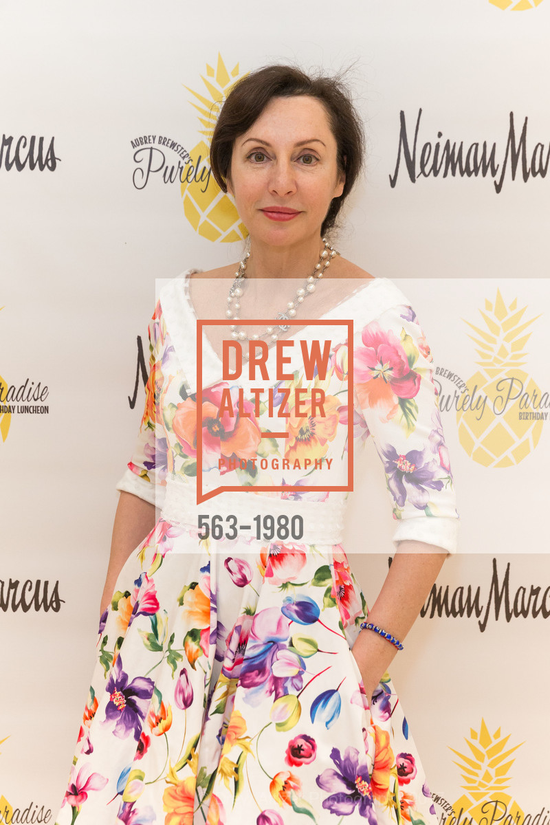 Clara Shayevich, Aubrey Brewster's Purely Paradise Birthday Luncheon 2017, Neiman Marcus. 150 Stockton St  SF, California 94108, March 24th, 2017
