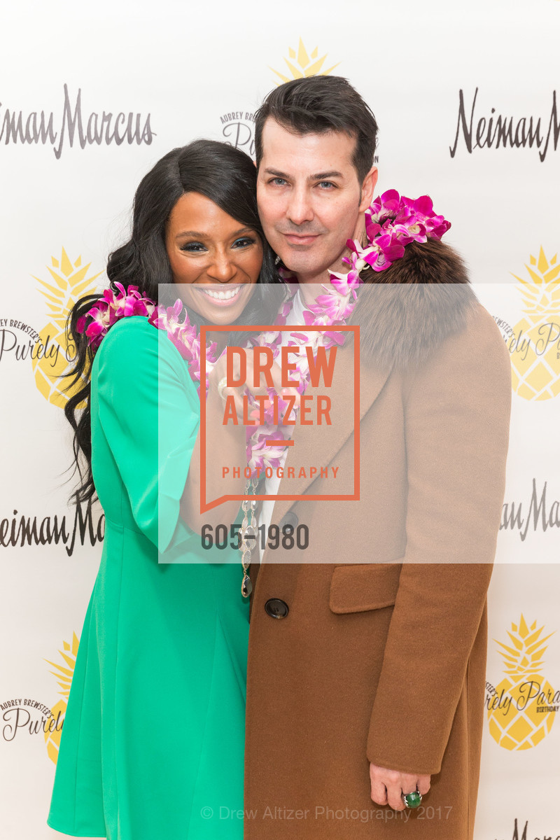 Pernella Sommerville, Bacca Dasilva, Aubrey Brewster's Purely Paradise Birthday Luncheon 2017, Neiman Marcus. 150 Stockton St  SF, California 94108, March 24th, 2017