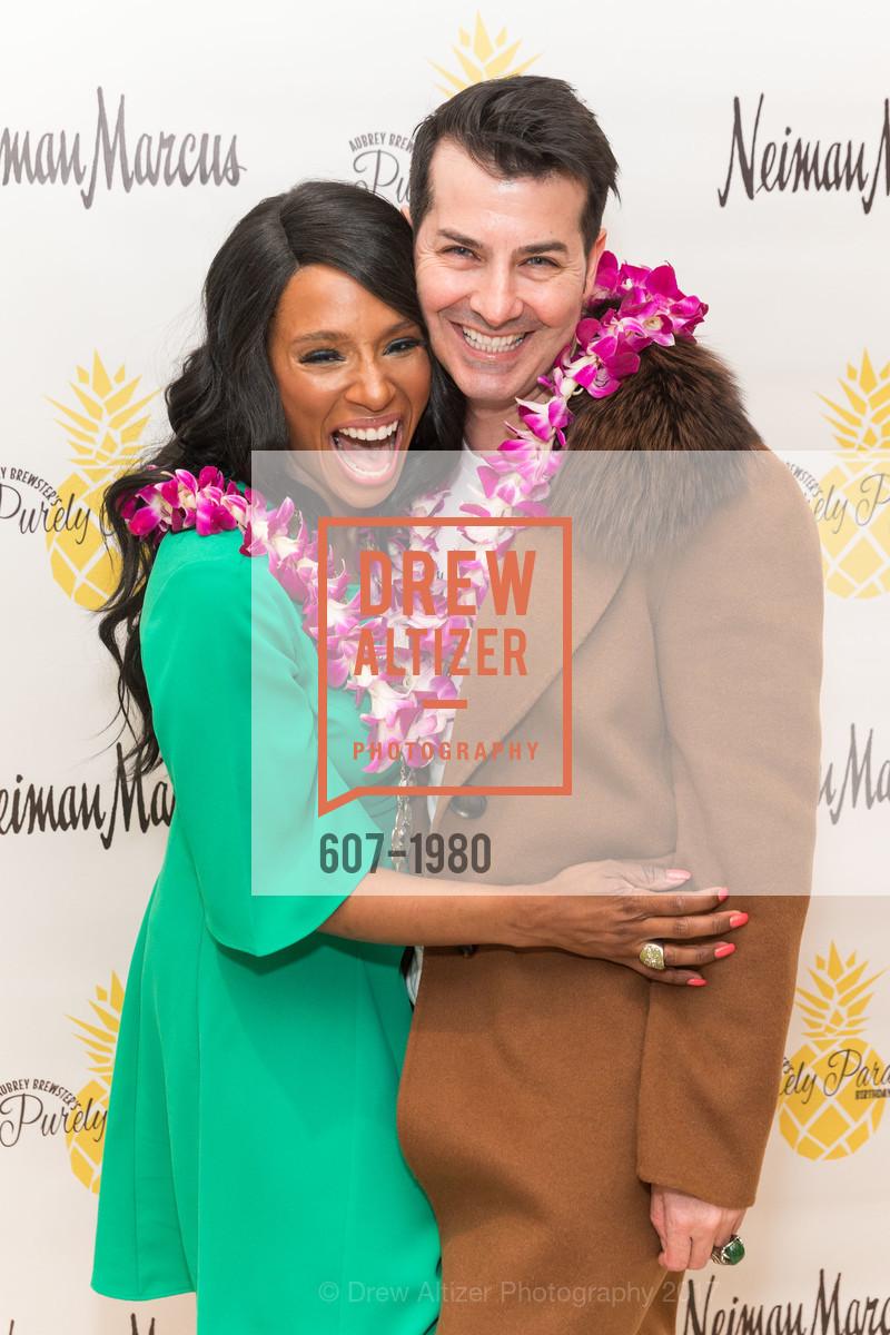 Pernella Sommerville, Bacca Dasilva, Aubrey Brewster's Purely Paradise Birthday Luncheon 2017, Neiman Marcus. 150 Stockton St  SF, California 94108, March 24th, 2017