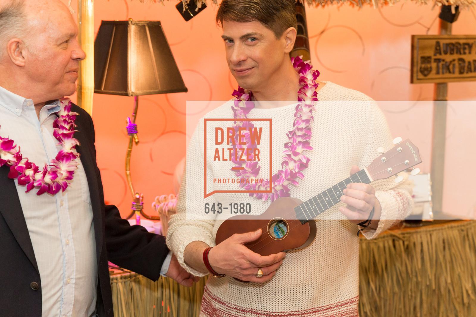Bill Hales, Aubrey Brewster, Aubrey Brewster's Purely Paradise Birthday Luncheon 2017, Neiman Marcus. 150 Stockton St  SF, California 94108, March 24th, 2017