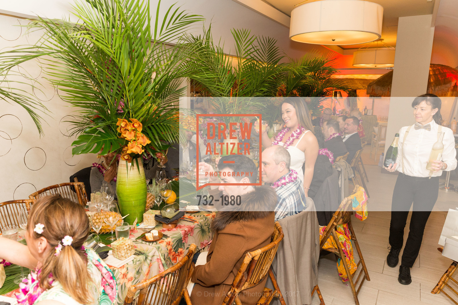 Atmosphere, Aubrey Brewster's Purely Paradise Birthday Luncheon 2017, Neiman Marcus. 150 Stockton St  SF, California 94108, March 24th, 2017