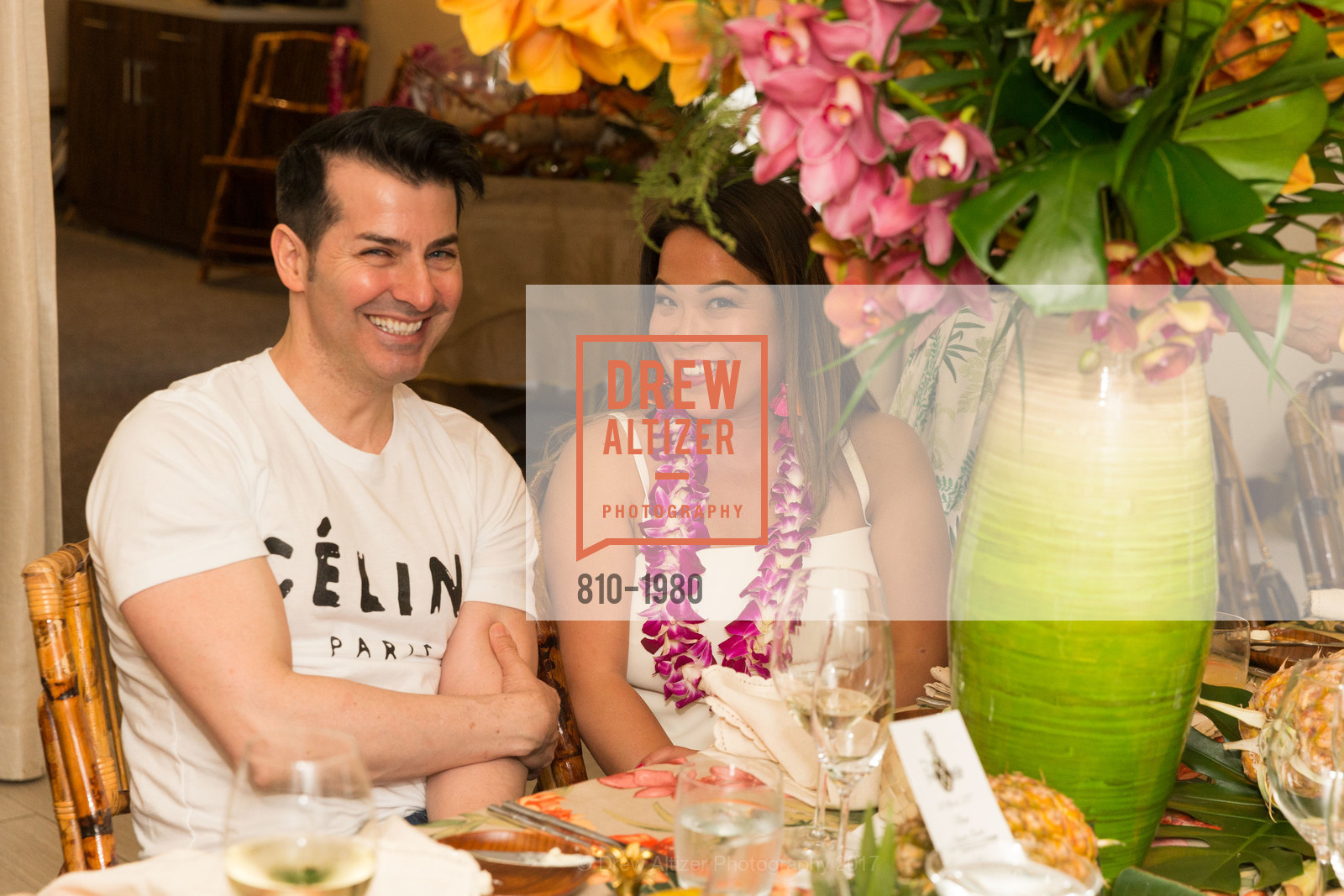 Bacca Dasilva, Jojo Ginn, Aubrey Brewster's Purely Paradise Birthday Luncheon 2017, Neiman Marcus. 150 Stockton St  SF, California 94108, March 24th, 2017