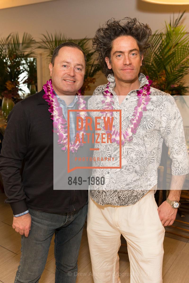 Edward Dubrovsky, Joel Medeli, Aubrey Brewster's Purely Paradise Birthday Luncheon 2017, Neiman Marcus. 150 Stockton St  SF, California 94108, March 24th, 2017
