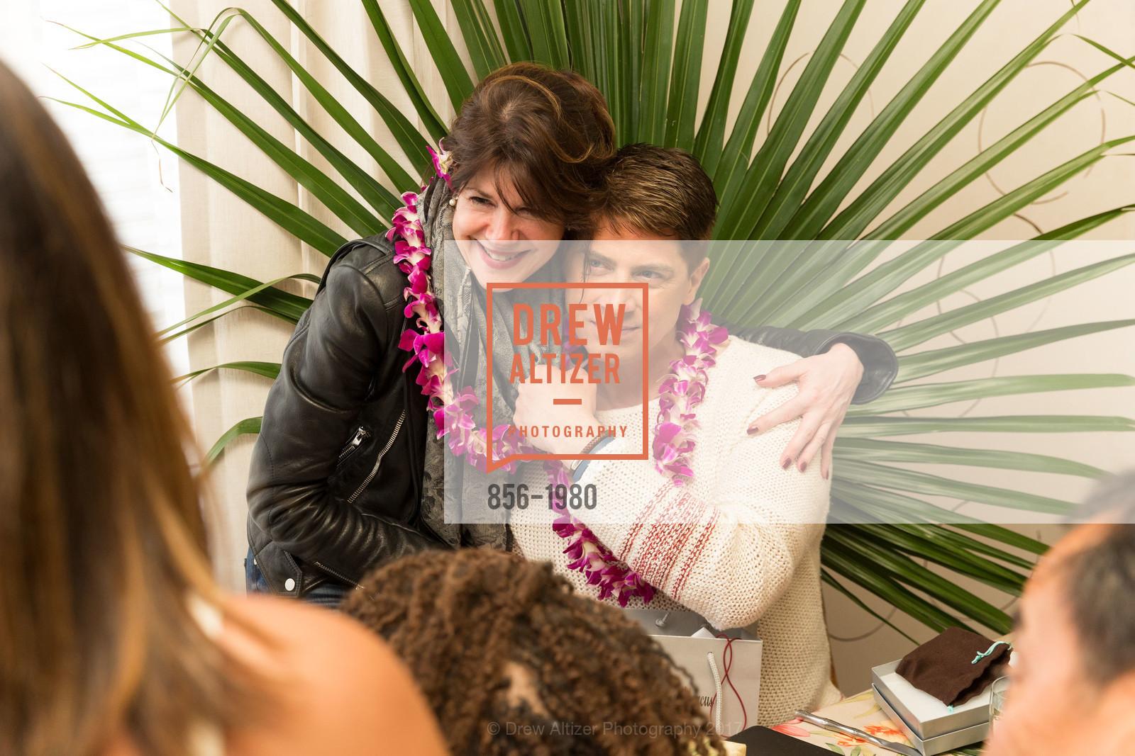 Brenda Zarate, Aubrey Brewster, Aubrey Brewster's Purely Paradise Birthday Luncheon 2017, Neiman Marcus. 150 Stockton St  SF, California 94108, March 24th, 2017