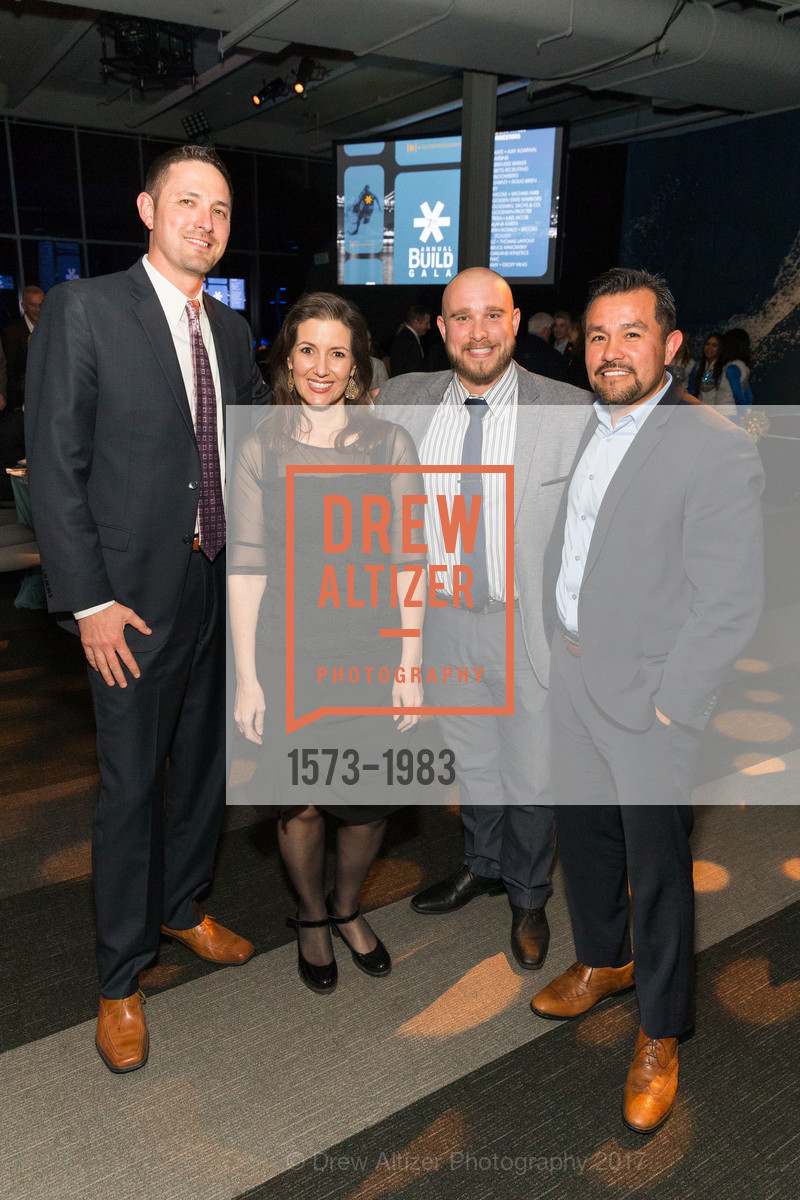 Jose Gordon, Libby Schaaf, Zachary Cohen, Jose Corona, BUILD Gala 2017, James R. Herman International Cruise Ship Terminal. Pier 27, March 23rd, 2017