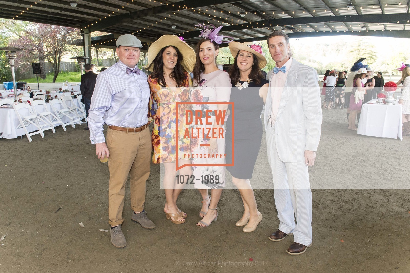Todd Tourand, Michelle Hopper, Stephanie Tourand, Marissa Bessette, David Bessette, Tiger Trifecta-St. Charles School Auction, National Center For Equine Facilitated Therapy. 880 Runnymede Rd, March 25th, 2017