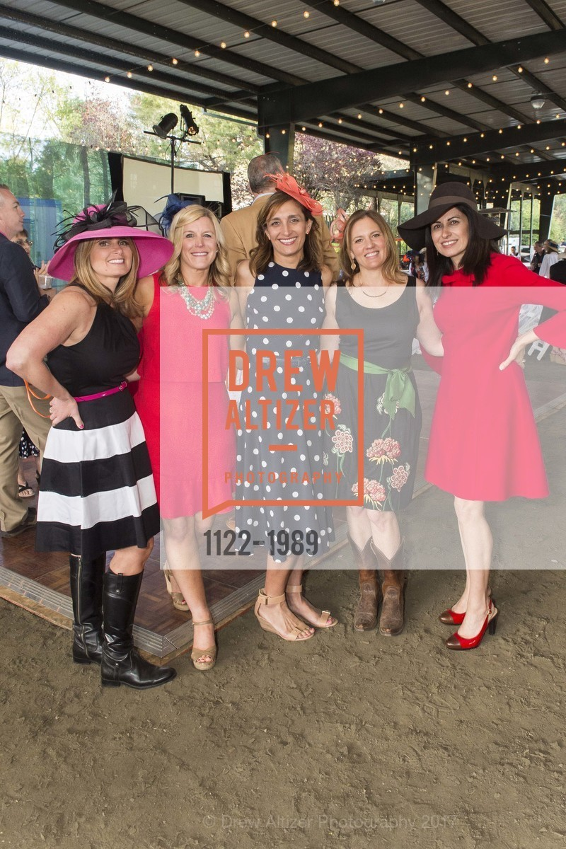 Laurie Bredel, Kristin Degnan, Paula Sheehan, Gina Stathacopoulos, Linda Moroney, Tiger Trifecta-St. Charles School Auction, National Center For Equine Facilitated Therapy. 880 Runnymede Rd, March 25th, 2017