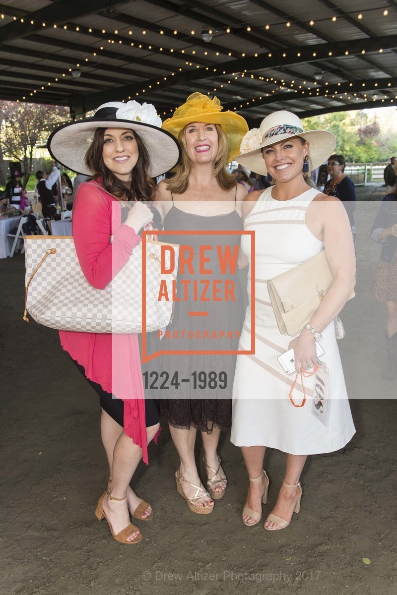 Sia Charonis, Ellen Kelly Daly, Tara Balestreri, Tiger Trifecta-St. Charles School Auction, National Center For Equine Facilitated Therapy. 880 Runnymede Rd, March 25th, 2017